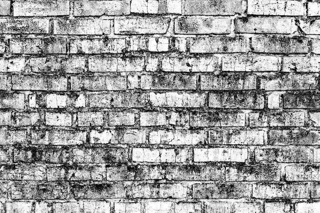 レンガの壁のテクスチャを閉じる