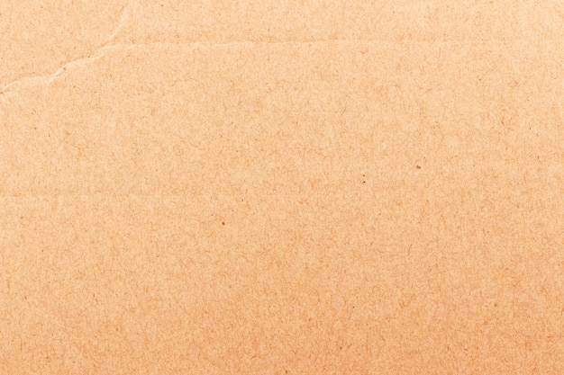 Close up of brown craft paper texture for background