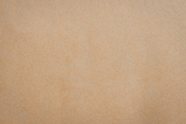 Close up brown paper texture and background with space.