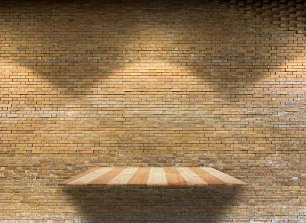 갈색 소박한 벽돌을 닫습니다