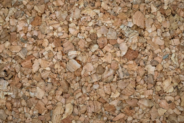 Close up brown yellow color of cork board texture background