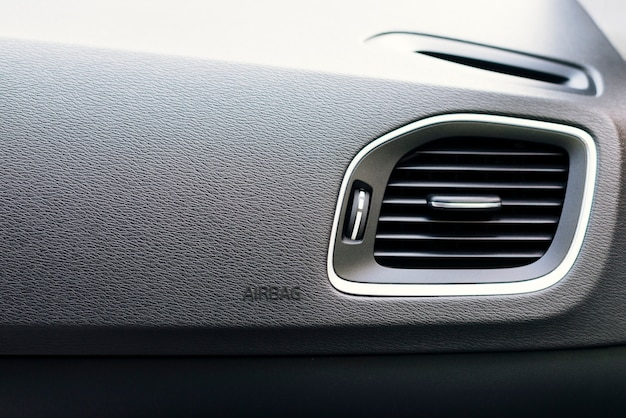 Close up of car interior