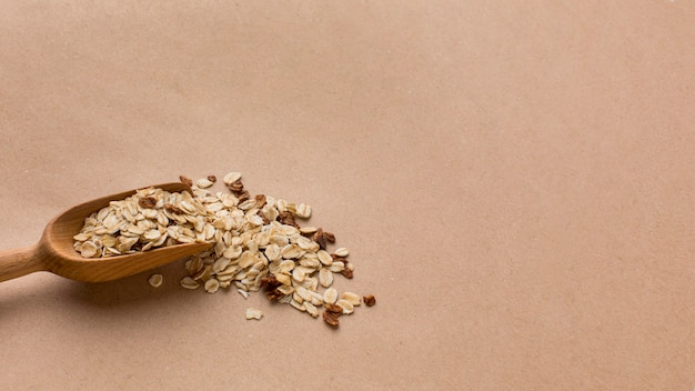 Close-up mix di cereali