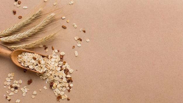 Close-up cereal mix