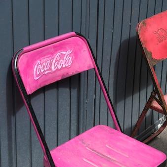 Close-up of chairs, guadalupe, san miguel de allende, guanajuato, mexico