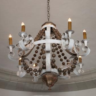 Close-up of chandelier, san miguel de allende, guanajuato, mexico