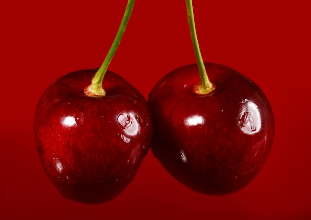 Close up of cherry