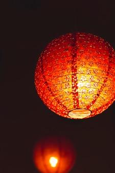 Close-up chinese lantern