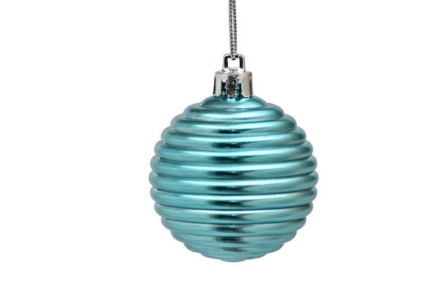 テーブルの上のクリスマスボールを閉じる