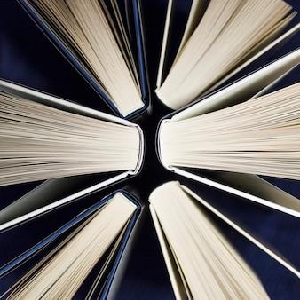 Крупный план из книг