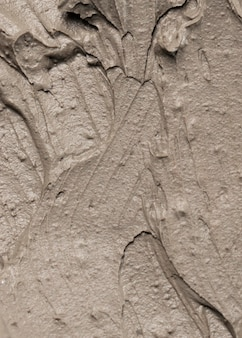Close up of clay pot texture