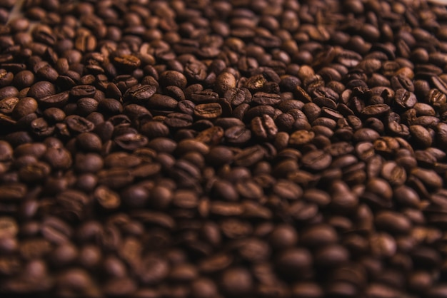 Close-up coffee beans