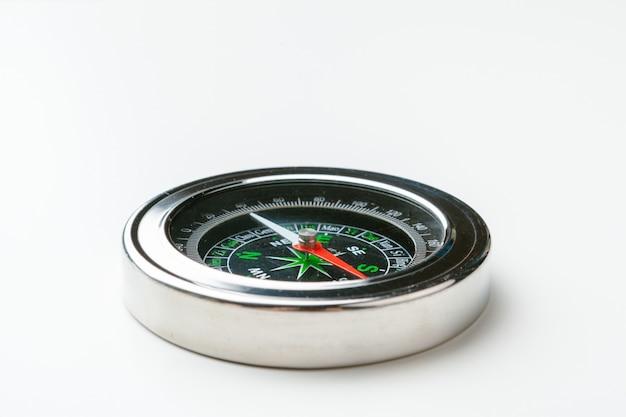 Close up of a compass