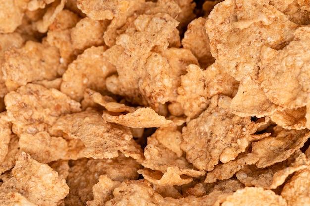 Close-up corn flakes