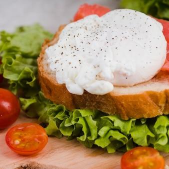 Close-up delicious breakfast