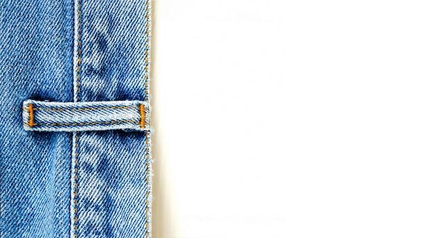 Close up denim jeans