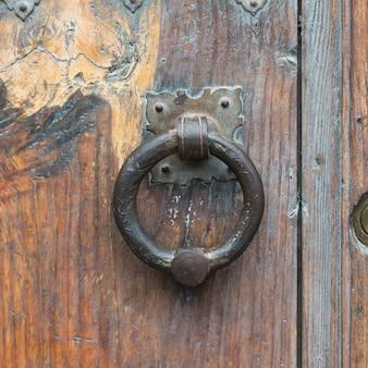 Close-up of door knocker, san miguel de allende, guanajuato, mexico