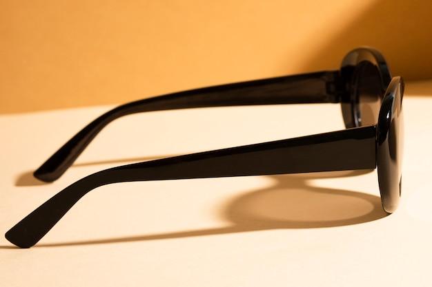 Макро очки с пластиковой оправой