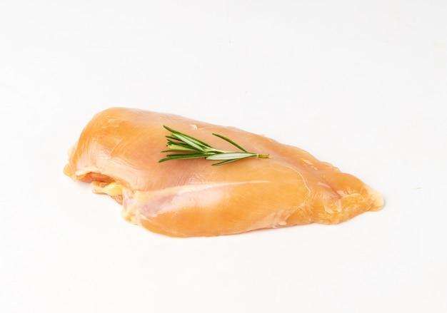 Close up of fresh chicken breast
