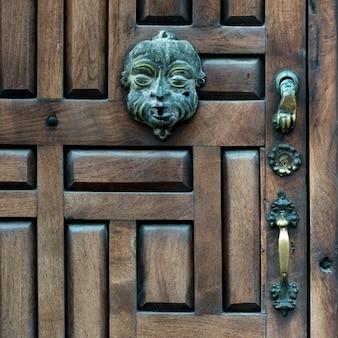 Close-up of front door, zona centro, san miguel de allende, guanajuato, mexico
