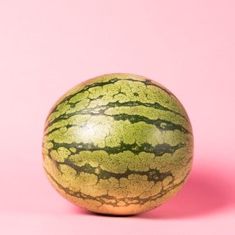 Close-up full size watermelon