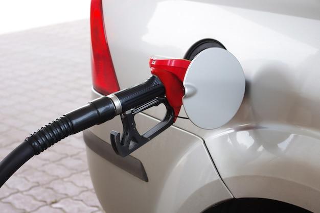 Close up of gasoline machine