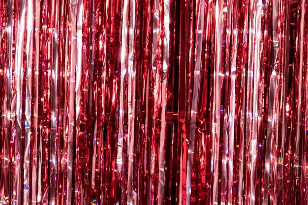 Primo piano sul dettaglio della decorazione con glitter