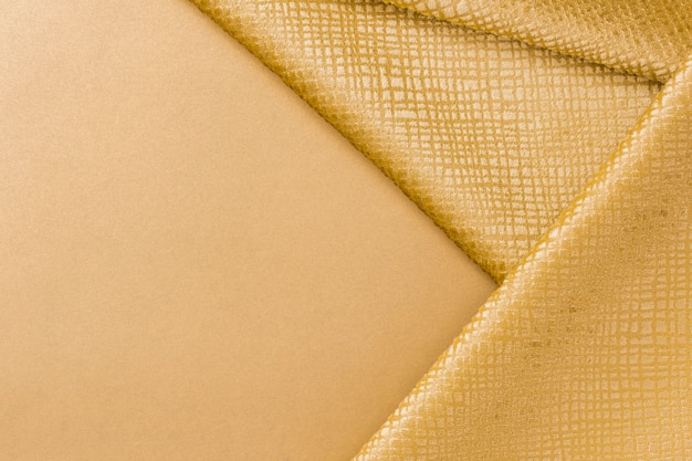 Close-up golden fiber texture with copy space