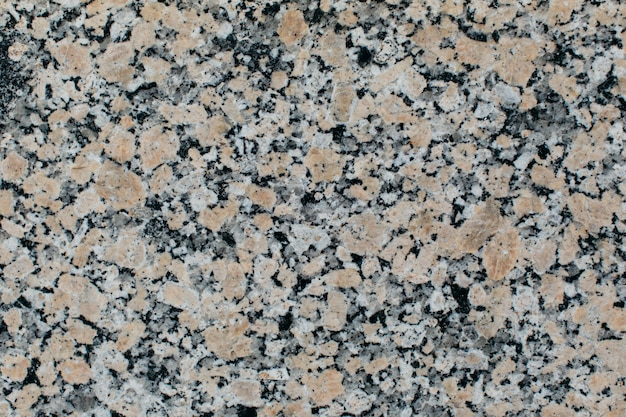Close up on granite texture for background