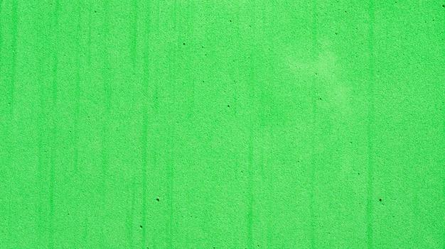 Close up of a green sponge