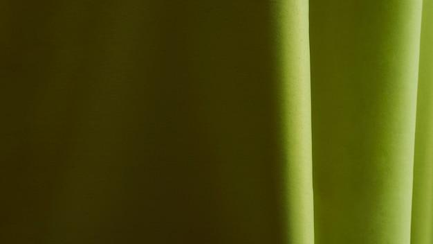 Materiale verde di struttura del primo piano
