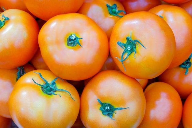 Close-up group of fresh tomato
