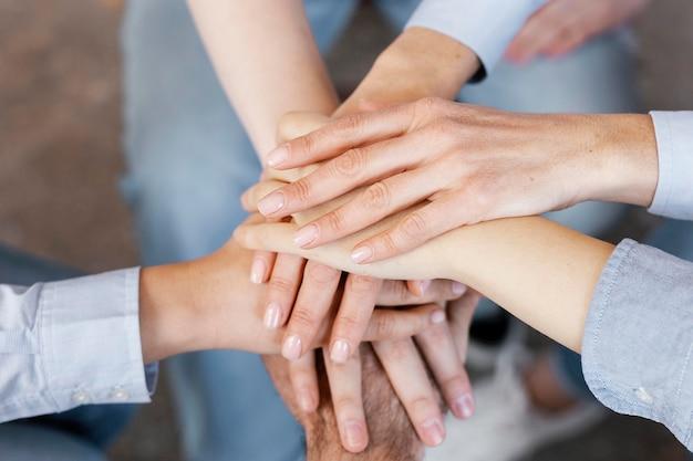 Chiudere il concetto di terapia di gruppo
