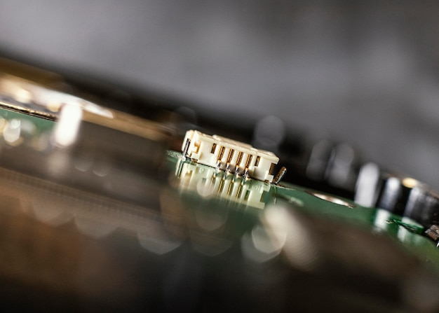 하드웨어 구성 요소 배경 닫기