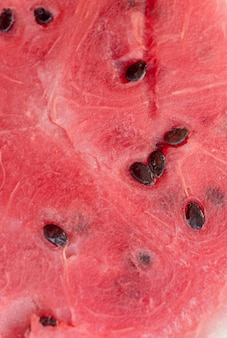 Close up of inside part of watermelon