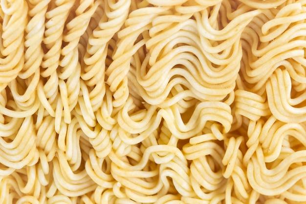 Close up instant noodles, macro