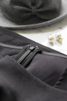 Close-up jacket with accesories