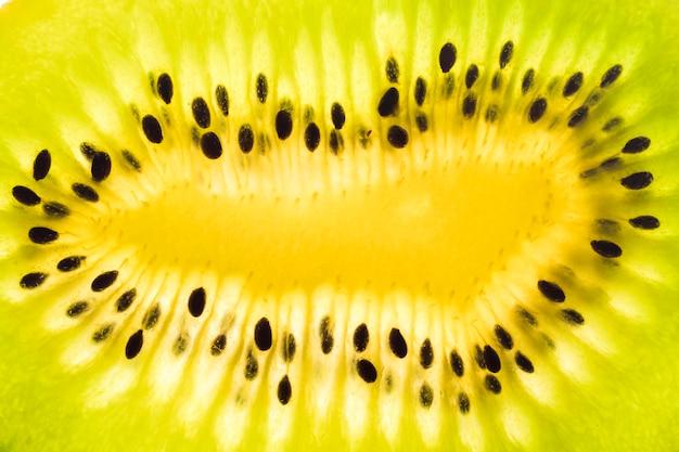 Close-up di kiwi fetta di frutta
