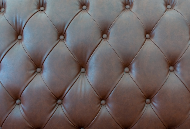 Close up leathers texture of sofa