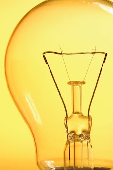 Close up of a ligth bulb