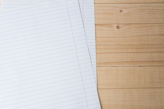 Close-up of lined paper background