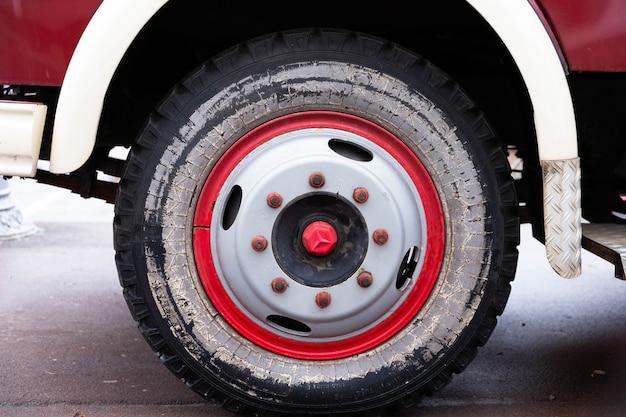Close up  mercedes-benz car wheel