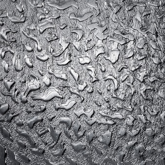 Close-up metallic grey background