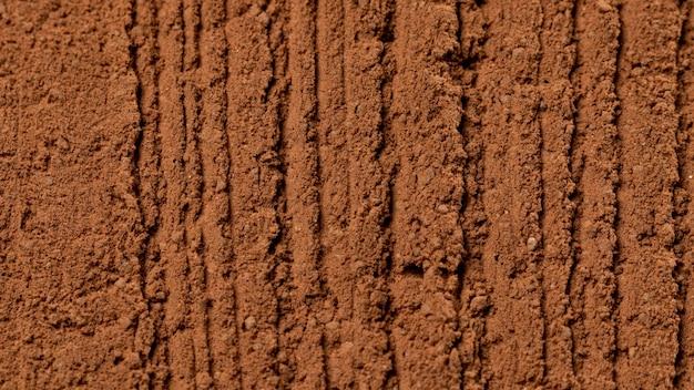 Close up miscela di texture pentola di creta