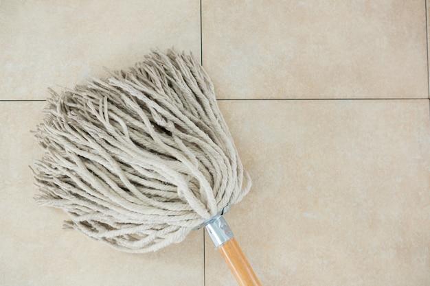 Close up of mop