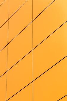 きちんとした黄色の表面をクローズアップ