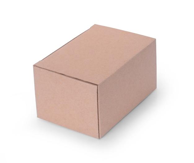 흰색 바탕에 상자 닫습니다.
