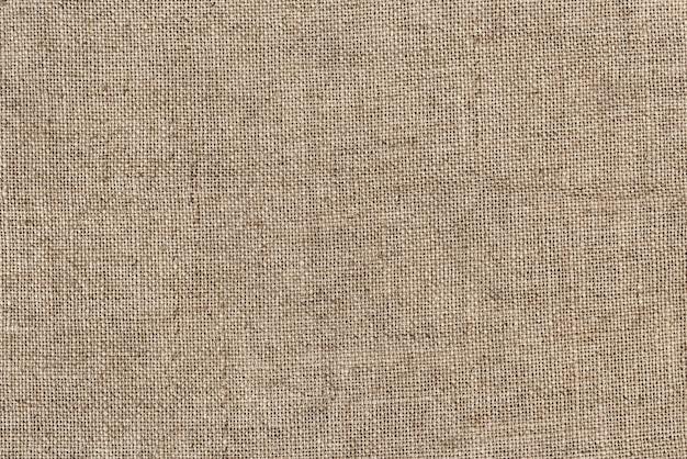 Крупным планом мешковины джутовый мешок текстурированный фон
