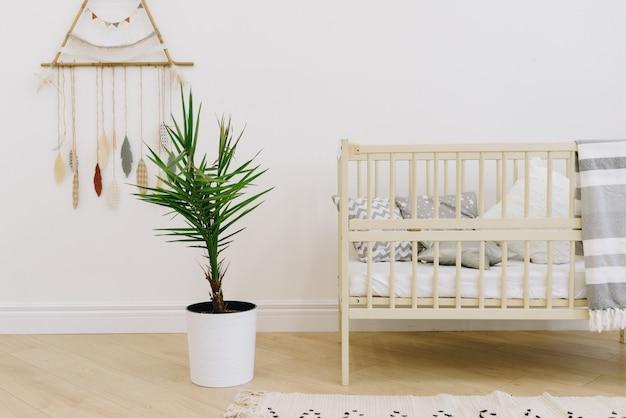 Крупным планом детской комнаты