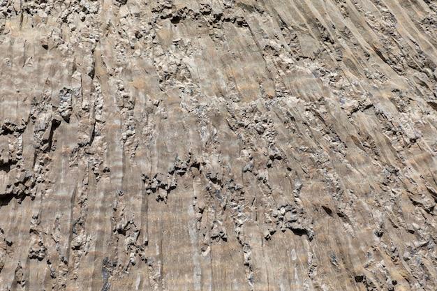 바위 구조, 옐로 스톤 국립 공원의 클로즈업